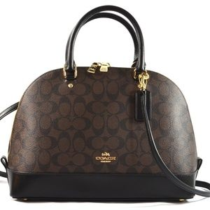 COACH Sierra Signiture  Hand shoulder bag